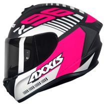 Capacete Axxis Draken Z96 Masculino Feminino Lançamento Esportivo Moto -