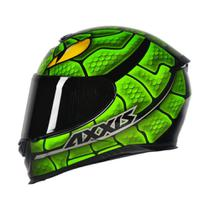 Capacete Axxis Eagle Snake Verde -
