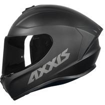 Capacete Axxis Esportivo moto Draken Solid Mono Masculino Feminino Lançamento Preto Fosco -