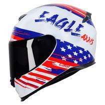 Capacete Axxis Estados Unidos Eagle Indenpendence Masculino Feminino Lançamento -