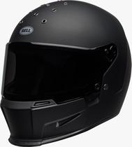 Capacete Bell Eliminator Preto Fosco Old School Retro