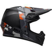 Capacete Bell Mx-9 Mips Presence MatteGloss Black Flo Orange -
