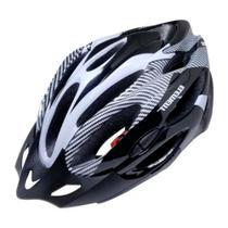 Capacete Bicicleta Bike Ciclismo Adulto Tamanho Regulável Branco e Preto G - South - Element