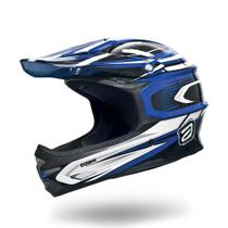 Capacete Bike Asw Extreme Downhill Azul -