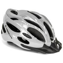 Capacete Bike Bicicleta Absolute Nero WT-012 Cinza Com Sinalizador Tamanho M 54-57cm -