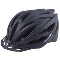 Capacete Bike MTB Preto Com Regulagem Damatta Comp