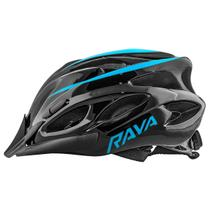 Capacete Bike TSW Rava Space New Azul MTB Speed Viseira -