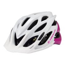 Capacete Ciclismo Absolute Mia Feminino com Pisca Led Bicicleta Mtb Speed -
