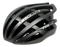 Capacete Ciclismo Absolute Prime Bicicleta Mtb Speed Bike Cinza Escuro Tamanho G -