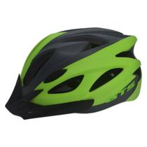 Capacete Ciclismo GTS GWT-012 Super Led Adulto Grande Verde -