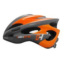 Capacete Ciclismo High One Volcano Bicicleta Mtb Speed Laranja -