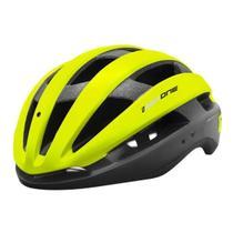 Capacete Ciclismo High One Wind Aero Bicicleta Mtb Speed Pro Amarelo -