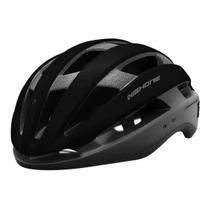 Capacete Ciclismo High One Wind Aero Bicicleta Mtb Speed Pro Preto -