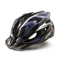 Capacete Ciclismo MTB Inmound 2.0 G Viseira Removível 19 Entradas Ventilação Azul Átrio BI179 - Atrio
