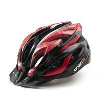 Capacete Ciclismo MTB Inmound 2.0 G Viseira Removível 19 Entradas Ventilação Vermelho BI177 - Atrio