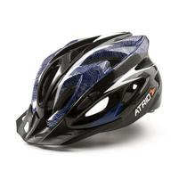 Capacete Ciclismo MTB Inmound 2.0 M Viseira Removível 19 Entradas Ventilação Azul Átrio BI178 - Atrio