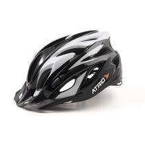 Capacete Ciclismo MTB Inmound M Viseira Removível 19 Entradas Ventilação Preto Cinza Átrio BI180 - Atrio