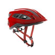 Capacete ciclismo MTB Scott Supra Vermelho 54-51cm -