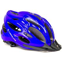 Capacete Ciclista Nero Bike Bicicleta Luz LED Absolute -