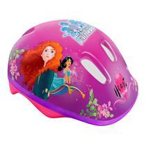 Capacete com Ajuste de Tamanho Disney Princesa Rosa Dtc 4071 -