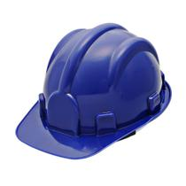 Capacete Com Carneira  Azul Escuro Wps0871 Pro Safety - Prosafety