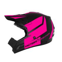 Capacete Cross Th1 Jett Factory Edition Pink Pro Tork