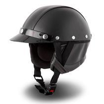 Capacete Custom Chopper Pro Tork Coquinho -