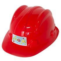 Capacete De Construção Infantil Maral 2020 Vermelho -
