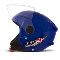Capacete de Moto Aberto New Liberty Three Azul Tamanho 56 CAP-488AZ Pro Tork -