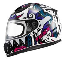 Capacete de Moto Feminino Texx Hawk Hunger Esportivo Rosa -