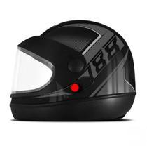 Capacete De Moto Supe Sport Moto Preto Fosco/Grafite - Pro Tork