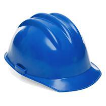 Capacete De Segurança Azul Com Carneira - Prosafety