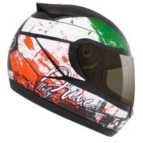 Capacete drive Hg Italy preto/color 58 - Fly