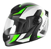 Capacete Escamoteável Mixs Gladiator Neo Lançamento Robocop Articulado - Mixs Helmets