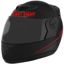 Capacete Evolution G6 788 Pro Neon Vermelho Tamanho 60 Pro Tork - CAP-559VM -