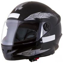 Capacete Fechado Moto Masculino Preto 56/58/60 New Liberty Four Pro Tork -