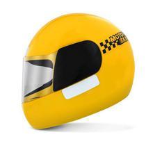 Capacete Fechado Moto Mototaxi Motocicleta Liberty X Pro Tork Motoboy - Ab Midia