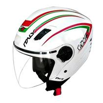 Capacete Fechado Moto X Open Branco Italy - Fw3