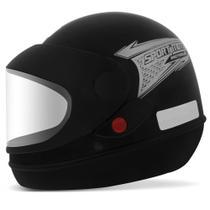 Capacete Fechado Pro Tork Sport Moto Preto Fosco -
