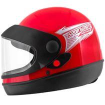 Capacete Fechado Pro Tork Sport Moto Unissex -