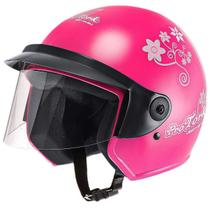 Capacete Feminino de Moto Liberty 3 Rosa Girls - Pro tork