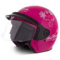 Capacete Feminino Pro Tork Liberty Three 3 For Girls Aberto
