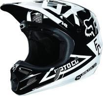 Capacete Fox V4 Machina Black Trilha Motocross A Sw - Size L - 59/60 - 02716-001 -
