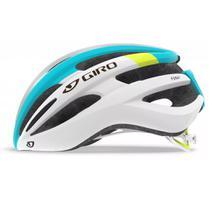 Capacete Giro Foray Branco Azul Iceberg Ciclismo -