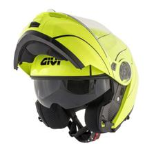 Capacete Givi X21 Escamoteável Graphic Amarelo Flúor tam 60 -
