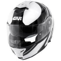 Capacete Givi X21 Globe Branco/Preto -