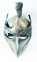 Capacete gladiador  espartaco romano dourado fantasia - Lynx Produções artistica