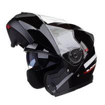 Capacete Gladiador Moto Texx Gladiator Articulado - Robocop -