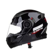 Capacete Gladiador Preto Brilhante 58 TEXX -