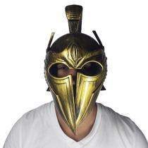 Capacete Gladiador Romano Dourado Fantasia - Lynx Produções artistica